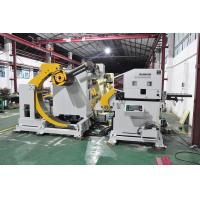 Buy cheap NC Accuracy Uncoiler Steel Decoiling Machine MAC4 -600A Punch Automation product