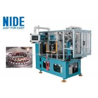 Buy cheap High efficiency automatic 4 working stations electric motor stator coil lacing machine line product