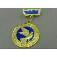 Buy cheap 3D Brass Die Stamped Custom Awards Medals Hard Enamel 100mm * 70mm product