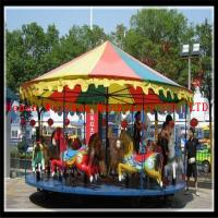 Buy cheap Popular playground simple merry go round carousel for sale product