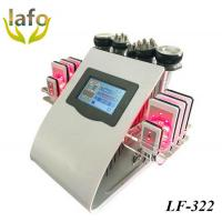 Buy cheap 2017 HOT SALE 650NM Lipo Laser / Lipo Laser Cavitation/ 5 IN 1 Vacuum Cavitation RF Lipo Laser Machine For Sale product