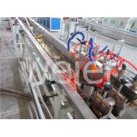 Buy cheap Precision Single screw plastic extrusion machinery for pvc three color printing edge band product