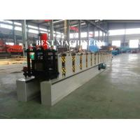 China Rain Gutter Roll Forming Machine Construction Material Roofing 450mm - 550mm Inner Diameter on sale