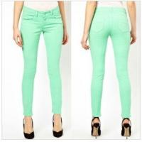 Buy cheap Exclusive Skinny Jeans In Dusty Jade Green   product