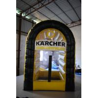 Buy cheap Interesting Inflatable Catching Cash Machine For Commercial Promotion product