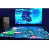 Buy cheap Acrylic Cover SMD Full Color LED Video Panel, LED Dance Floor for Wedding Stage from wholesalers