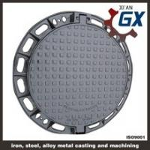 Buy cheap BS EN124 Ductile Iron Cast Iron Manhole Covers Dimensions product