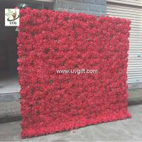 Buy cheap UVG PTR1103 Wedding decoration materials artificial flower for wall decoration 6ft high product