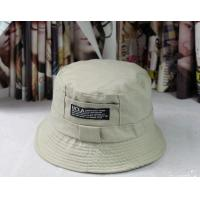 Buy cheap custom logo cotton fit one colour Bucket Hat and Fishing Cap (YC-BK002) product