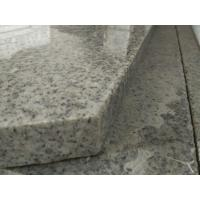 Buy cheap Light Grey Stone Stair Treads And Risers , 7.5 Hardness Granite Stone Stairs product