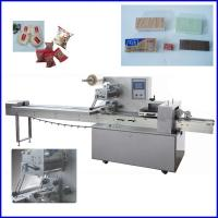 China Automatic Multifunction  Flow Pack Machine For Bread / Biscuit on sale