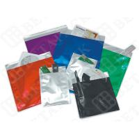 Buy cheap Red / Blue / Green PE Film / Aluminum Foil Envelopes With Self Seal Closure product