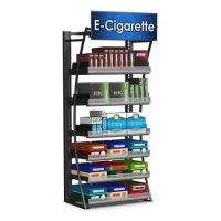 Buy cheap Contemporary Free Standing Cigarette Display Cabinet Store Display Fixtures For Retail product