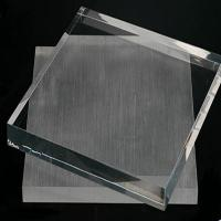 Buy cheap Excellent quality tempered Fine grinding side small size glass from wholesalers