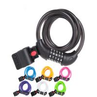 Buy cheap Five - Digit Code Anti Theft Lock , Multicolored Bicycle Password Lock product