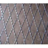 Buy cheap Galvanized BTO-22 Welded Razor Wire Mesh with 75x150mm Aperture Mineral fences product