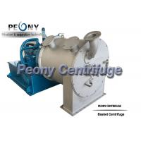 Buy cheap Automatic continuous 2 Stage Pusher Centrifuge For Citric Acid Dewatering from wholesalers