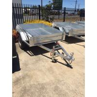 Buy cheap Hot Dipped Galvanised 8x5 Single Axle Trailer 750kg Capacity product