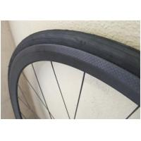 Custom Racing Bicycle 700c Carbon Wheelset Lightweight Clincher Wheels