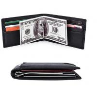 Buy cheap High Durability Bifold Stylish Leather Wallet Custom Handmade For Men product