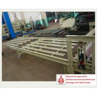 China Sandwich Board Construction Material Making Machinery with Roller Extruding Craft on sale