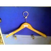 Buy cheap Wooden Flat Shop, garment, Hotel Clothes Hangers for shirt, suit and coat product