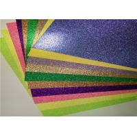 Buy cheap Luxury Gift Wrapping 12x12 Glitter Paper , Colored Glitter Foam Paper product
