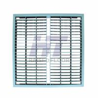 Buy cheap Steel Grating Perforated Raised Floor Large Air Flow Rate with Powder Epoxy product