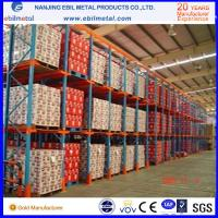 Buy cheap Widely Used Metallic Drive in Pallet Racking High Quality / Pulling Through Rack product