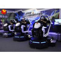 China 3 Dof Platform VR Car Racing 9D Simulator Supports Multiplayers Competition on sale