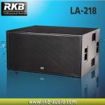Buy cheap Line array subwoofer LA-218 product