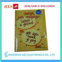 Buy cheap Melody Greeting Card Hot Selling Musical product