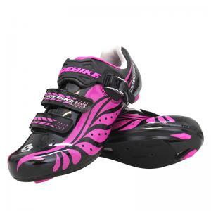China Custom Ladies Cycle Touring Shoes Good Ground Holding Nylon+Tpu Sole on sale