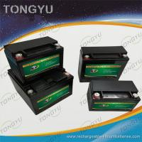China Street Bikes LiFePO4 Starter Battery 12V 5Ah 240A Copper M6 Terminals Light Weight wholesale