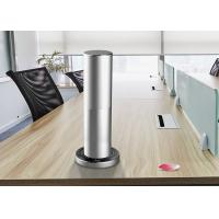 China Air Aroma Scent Diffuser Machine In Cylindrical Shape With Desktop Installation on sale