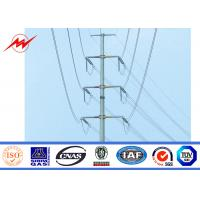 China Anti Corrosive Galvanized Street Lighting Pole With Gr50 Gr65 Material , BV SGS Standard on sale