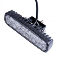 "China LED Spotlights 1800LM Mini 6"" 18W 6 x 3W Car LED Light Bar as Worklight / Spot Light / Spot Lights for Boating Fishing wholesale"