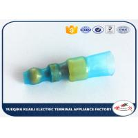 Buy cheap Waterproof Green Heat Shrink Wire Terminals With Hot-Melting Plastic Coils product