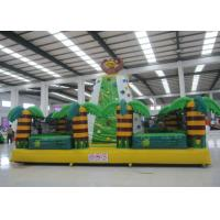 Buy cheap Kids / Adults Sports Games Inflatable Rock Climbing Wall 7 X 7 X 5m Fire Resistant product