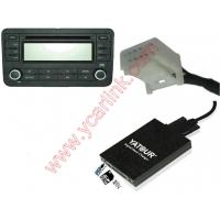 Buy cheap Digital CD changer for Toyota Small 6+6 plug(USB SD AUX adapter interface) product