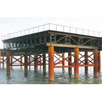 Buy cheap Movable Modular Military Floating Bridge Prefabricated Steel Truss Bridge product