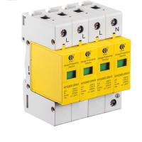 Buy cheap SPD Lightning Arrester Power Surge Protection Device 3 Phase 380VAC CE Approval product