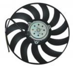 Buy cheap OEM 8E0959455K AUDI Radiator Fan Replacement , 12 Volt Automotive Cooling Fans product