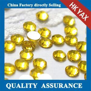Buy cheap China wholesale non hotfix glass;flat back hotfix glass for nail decoration;non hotfix glass product
