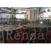 Buy cheap Carbonated Drink Filling Machine , Coca Cola Filling Machine For Gas Juice Water product