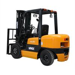 Buy cheap Diesel Engine Heavy Duty Forklift Truck Capacity 3.5t CPCD35 125mm Fork Width OEM product