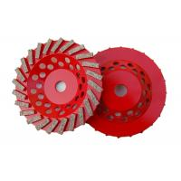 Buy cheap 7 Double Row Diamond Cup Grinding Wheel For Stone Tools Grinding Granite product