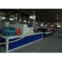 Buy cheap PE Single Wall Corrugated Pipe Extrusion Production Line , PE Plastic Corrugated Pipe Making Machine from wholesalers