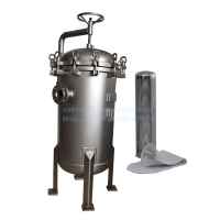 Buy cheap SUS304 Stainless Steel 180*450mm Triple Bag Filter Housings product