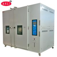 Buy cheap ASLI Lab Testing Cold Room Walk In Environmental Chamber Water / Air Cooling product